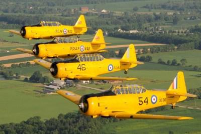 canadian harvard aircraft